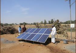 Solar Power Plant at Ashram