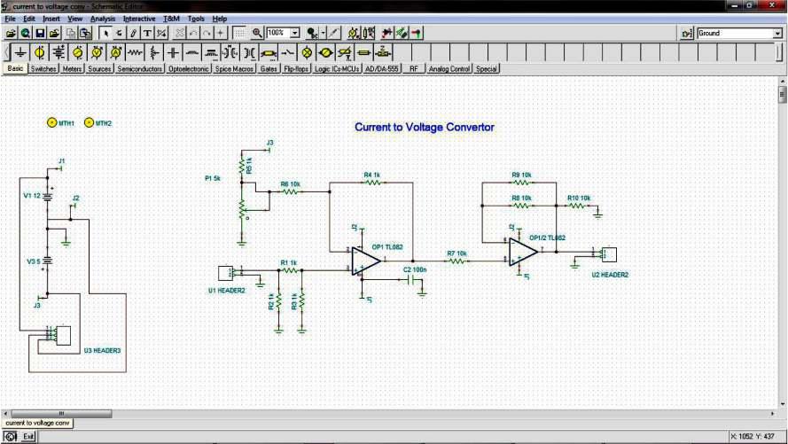 PCB Prototype Machine Schematic