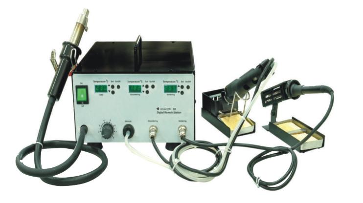 Rework System (Soldering, Desoldering  & SMD hot air)