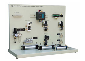 PLC Controlled Electro Pneumatic Training Platform