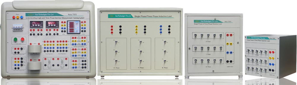 Single and Three Phase Electrical Measurement Training System