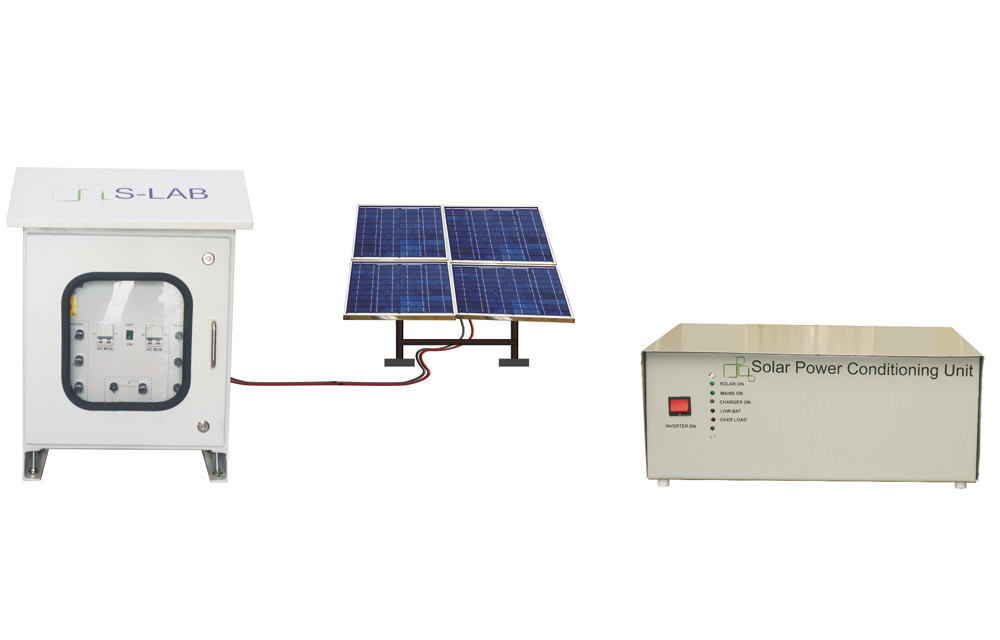 Solar PV Efficiency Measurement System