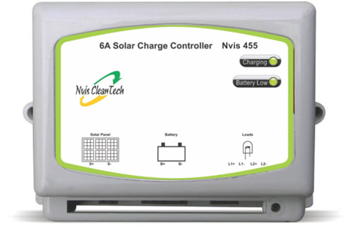 Solar Charger Controller 455