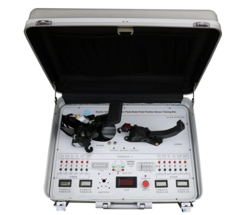 Electric Vehicle Accelerator Pedal Brake Pedal Position Sensor Training Box
