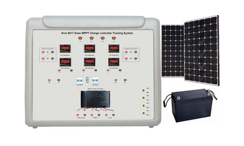 Solar MPPT Charge Controller Training System