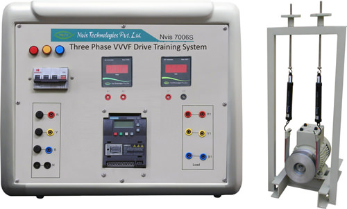 Three Phase VVVF Drive Training System