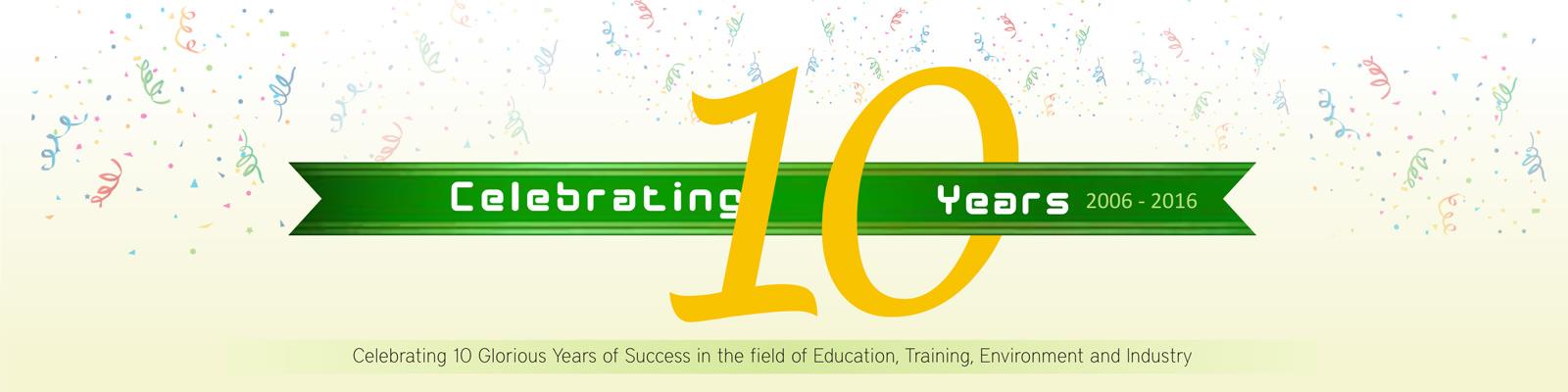 10 Years Celebration